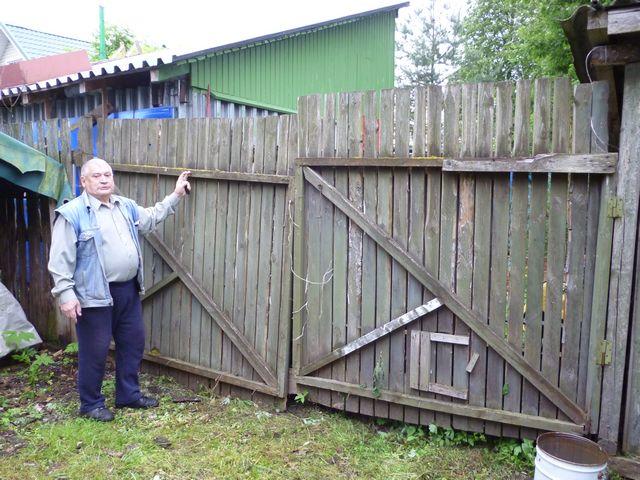 Ворота ¦1, между домовладениями