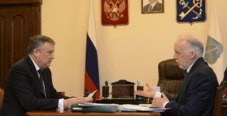 Встреча Уполномоченного по правам человека  с Губернатором