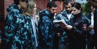 Инструктаж ДНД проводит старший инспектор, капитан полиции Евгения Овсянкина