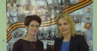 Ольга Аргунова (справа) и Евгения Калинина