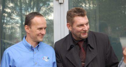 Сергей Рязанцев и Пётр Бабенко