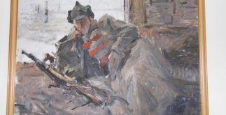 Красноармеец, картина М. Стручева