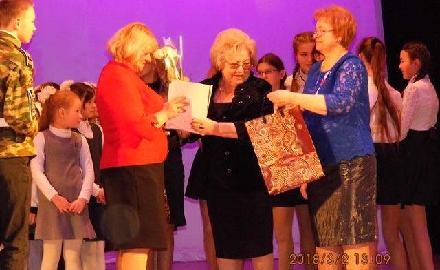Конкурс хоров - награждение
