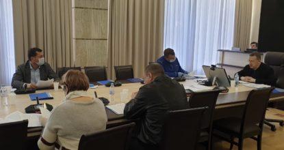 Заседание комисси в ЗакС