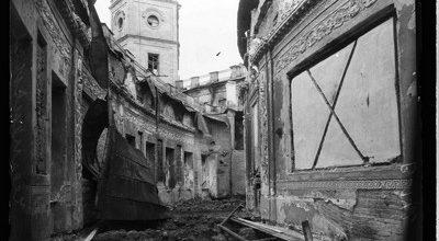 Гатчинский дворец во время войны