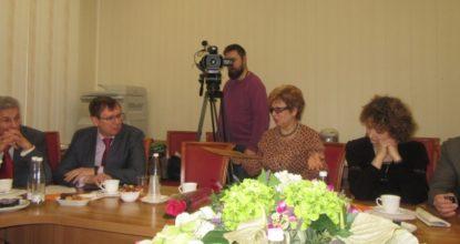 Круглый стол журналистов