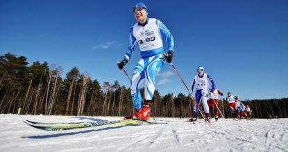 Лыжный марафон
