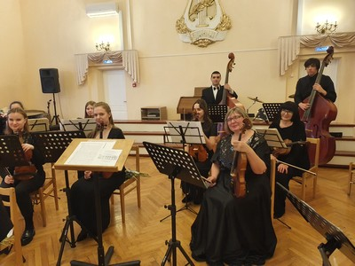 Оркестр классической музыки