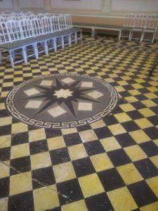 Шахматный зал в Рождествено
