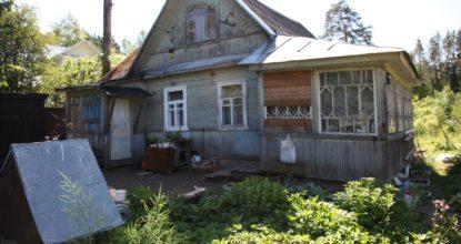 Старый дом в Вырице