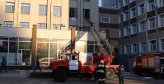 Пожарные проверяют