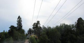 ЛЭП в Сиверском