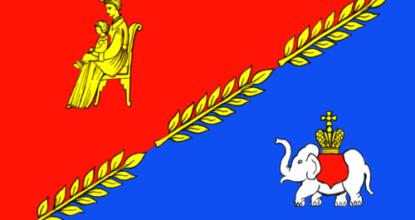 Флаг Кобринского поселения