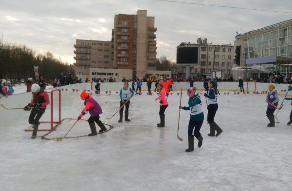 Хоккей на валеках