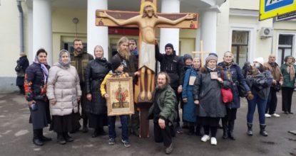 Крест на Варшавском вокзале