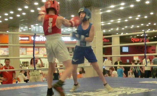 Бокс в Кубусе