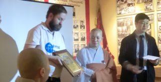 Александр Маврин и ремиссёр из Кореи