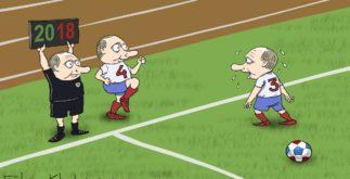 Карикатура Выборы 2108