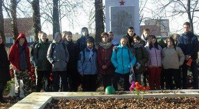Памятник в Дружноселье
