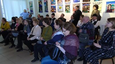 Зрители в малом зале Войсковиц