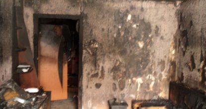 Сгоревшая квартира