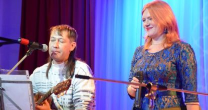 Сергей и Анита Шутиловы