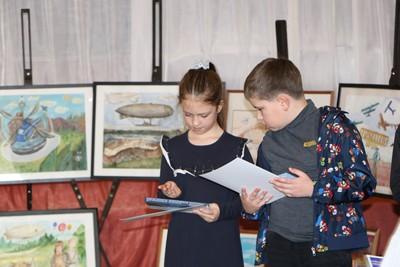 Победители конкурса рисунков в Сиверском
