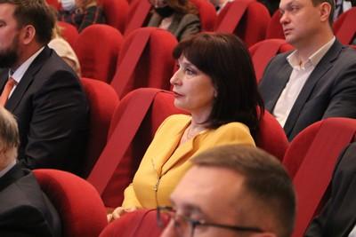 Людмила Тептина в зале