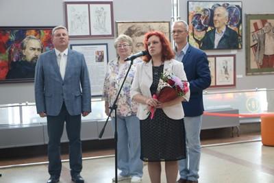 Открытие выставки Т. Стрежбецкой