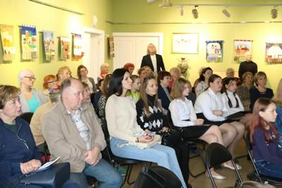 Зрители в войсковицкой школе искусств