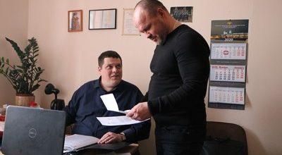 ю Владимир Мокоско и Алексей Невский