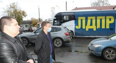Агитационный автобус ЛДПР