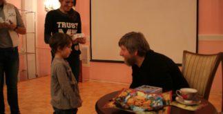 Виктор Боярский и дети