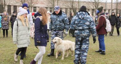 Кинологи Балтийской таможни в СПбГАУ (7)