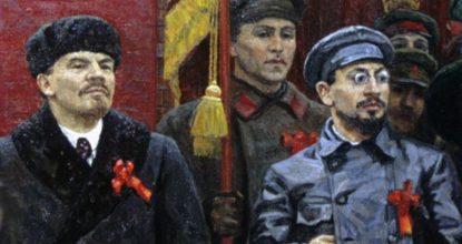 Ленин и Троцкий - 1