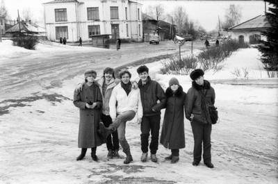 М. Николаев - весь в белом. Красные Баки, 1989