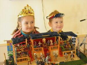 Дети с рыцарями