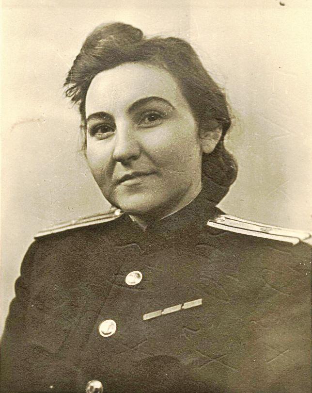 Майор Нина Соколова