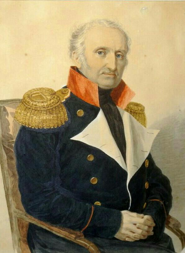 Портрет П.Х. Витгенштейна, неизвестный художник, первая половина 19 века, Государственный Эрмитаж