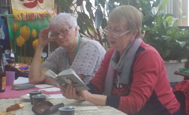 Татьяна Тарлецкая и Бирута Кузьмина
