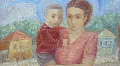 Вологодская Мадонна, худ. Александр Златкин