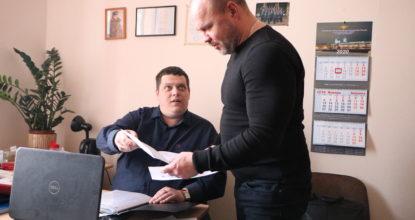 Юристы Алексей Невский и Владимир Мокоско