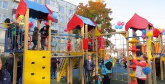 Детская площадка в Новом Учхозе