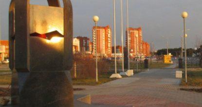 Памятник ликвидаторам в Сосновом Бору