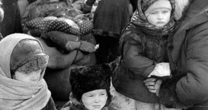 Дети в блокаду