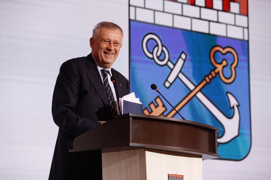 Александр Дрозденко - отчёт закончил