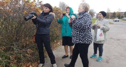 Анна Никонорова учит фотоделу