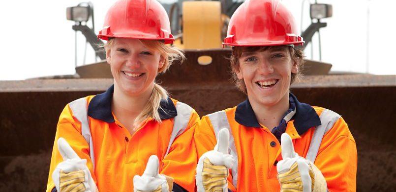 Молодые рабочие