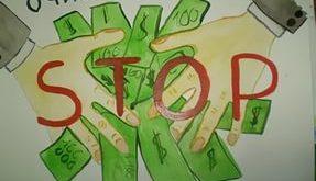 Коррупция детский рисунок