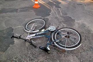 Сбит велосипедист